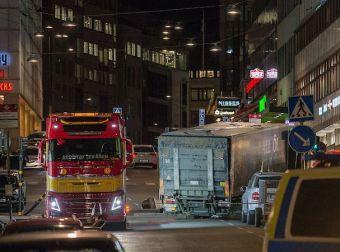 Stockholm terrrora lastbil