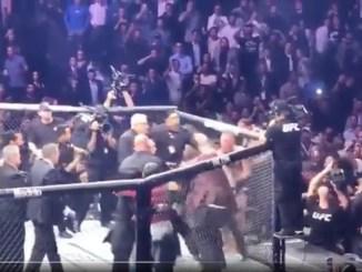 conner khabib fight MMA video