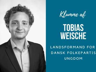 Tobias Weische dansk folkepartis ungdom formand