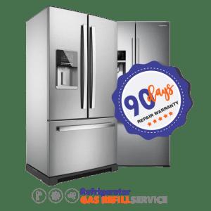 Refrigerator Gas Refill French Door