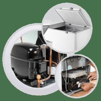 Deep Freezer Repair and Gas Refill Service