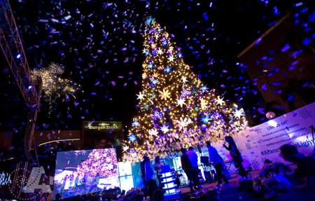 Araneta Center Giant Christmas Tree