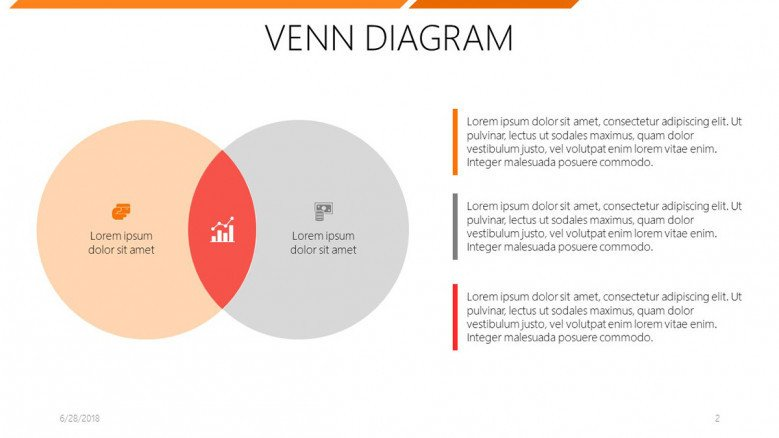 6 circle writable venn diagram example 22re fuel injection wiring free powerpoint template two set slide