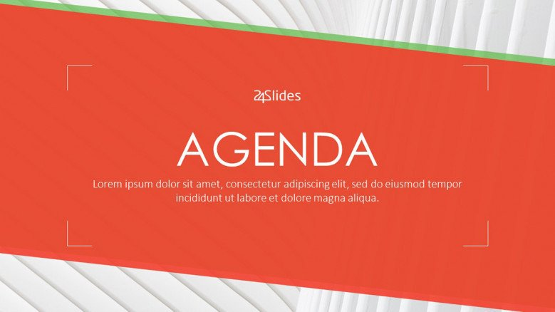 Setting a solid meeting agenda ensures the success of the meeting. Agenda Free Powerpoint Template
