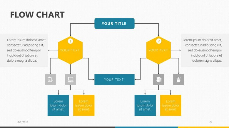 hight resolution of flow chart free powerpoint template