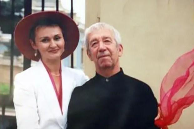 Борислав Брондуков с женой