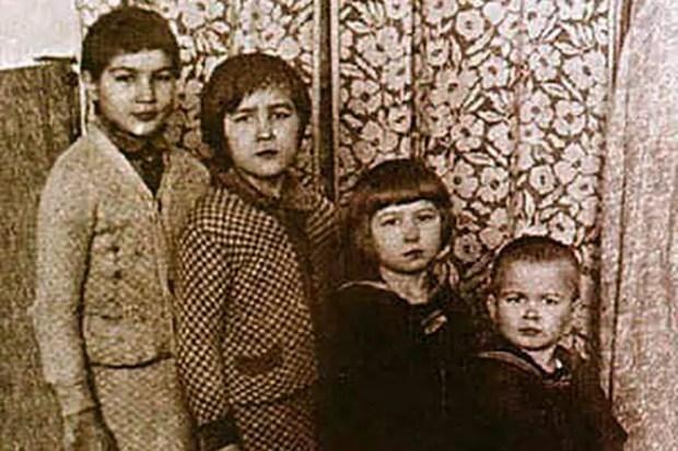 Рудольф Нуриев и семья