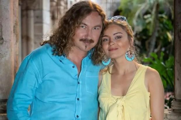 Игорь Николаев с дочерью от первого брака Юлией