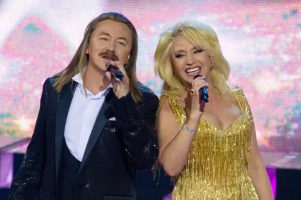 Игорь Николаев и Ирина Аллегрова