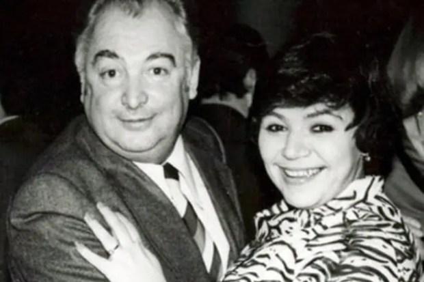 Майя Кристалинская с мужем Эдуардом