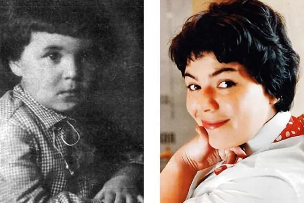 Майя Кристалинская в детстве
