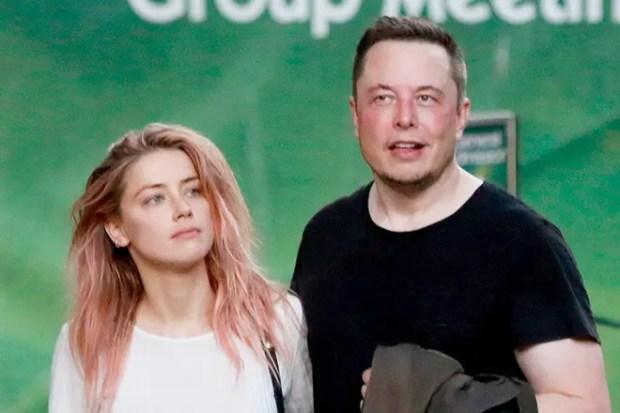 Илон Маск и Эмбер Херд