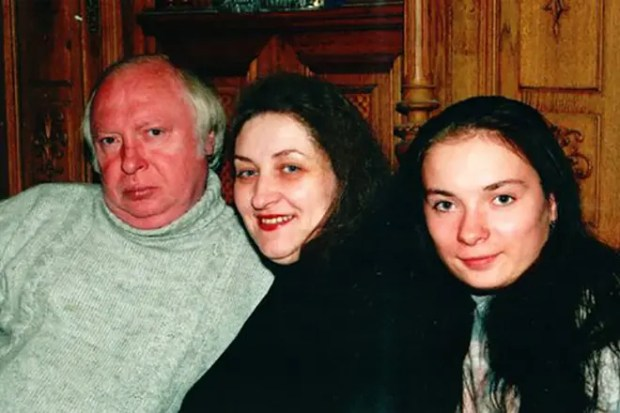 Валерий Ободзинский со второй семьей