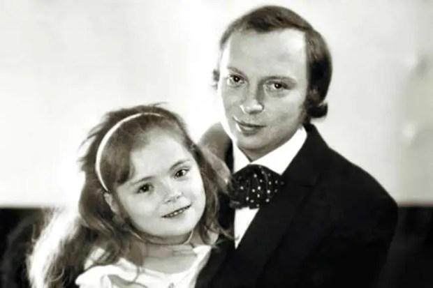 Валерий Ободзинский с дочерью