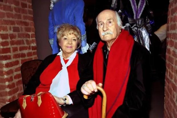 Владимир Зельдин и его жена Иветта Капралова