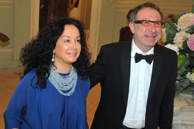 Евгений Маргулис и его жена Анна