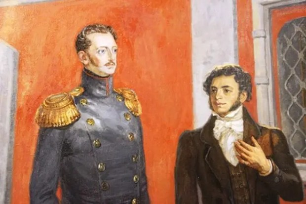 Александр Пушкин и Николай I