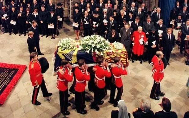 Похороны принцессы Дианы
