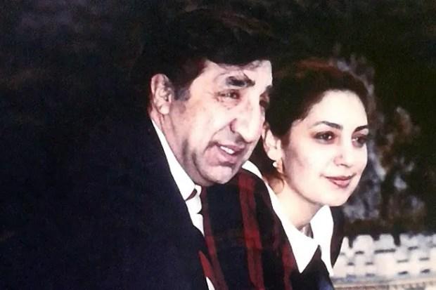 Фрунзик Мкртчян с женой Донарой