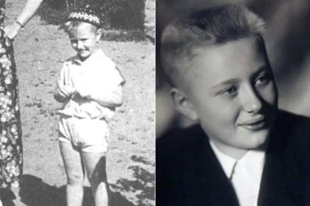 Андрей Миронов в детстве