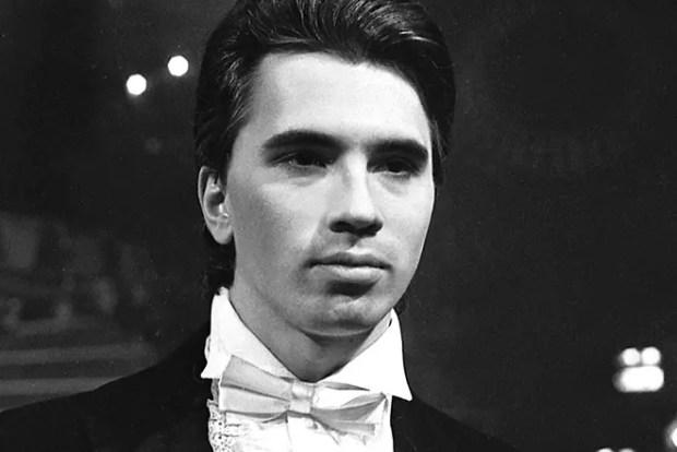 Дмитрий Хворостовский в молодости
