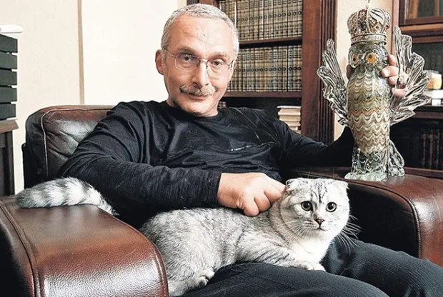 Александр Друзь и его кот