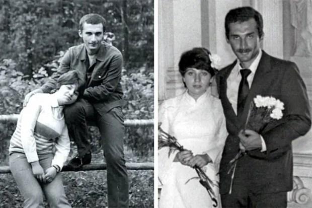 Александр Друзь с женой