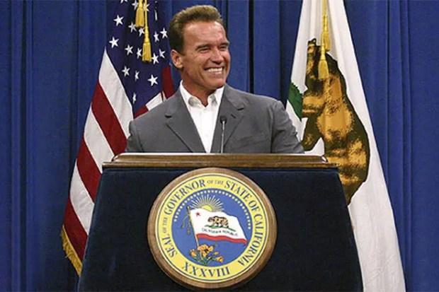 Арнольд Шварценеггер был губернатором Калифорнии
