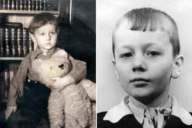 Михаил Задорнов в детстве