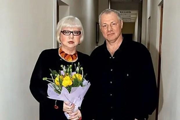Светлана Крючкова с мужем