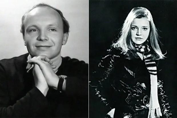 Андрей Мягков и Анастасия Вознесенская в молодости