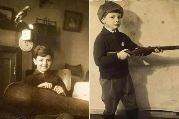 Александр Ширвиндт в детстве