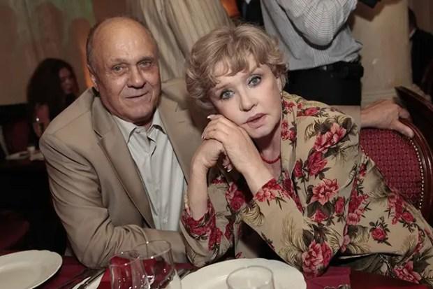 Вера Алентова с мужем