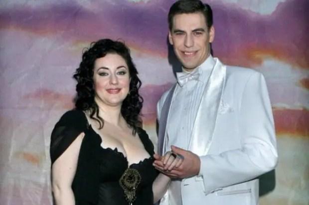 Тамара Гвердцители и Дмитрий Дюжев