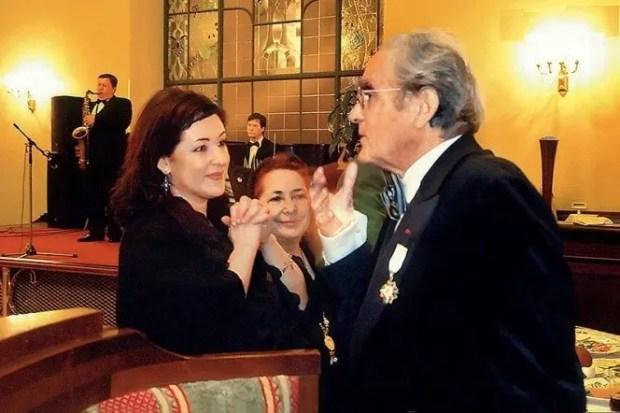 Тамара Гвердцители и Мишель Легран