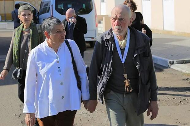 Людмила Улицкая и Андрей Красулин