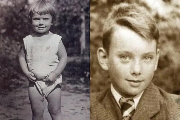 Алексей Баталов в детстве