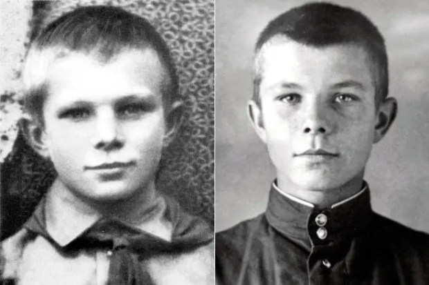 Юрий Гагарин в детстве