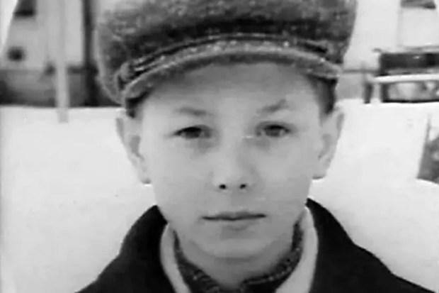 Олег Даль в детстве