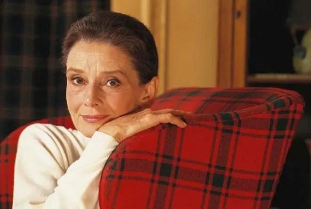 Одри Хепберн в старости