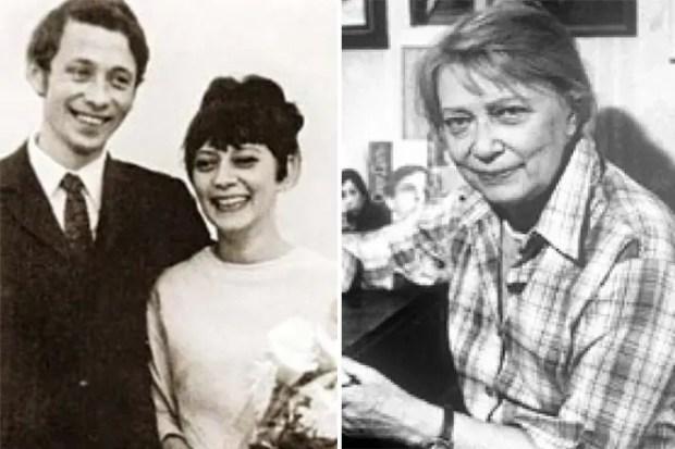 Олег Даль с женой Лизой