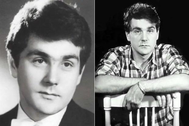 Сергей Маковецкий в молодости