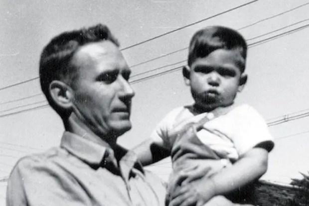 Стивен Джобс с отчимом