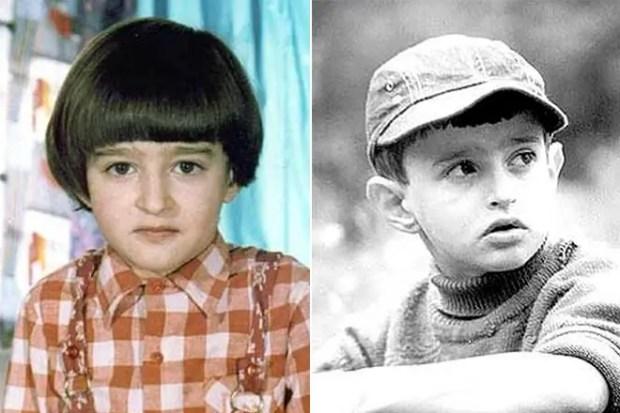Константин Хабенский в детстве