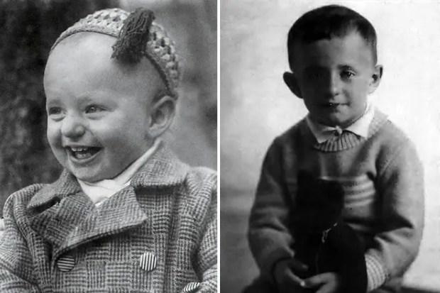 Марк Захаров в детстве