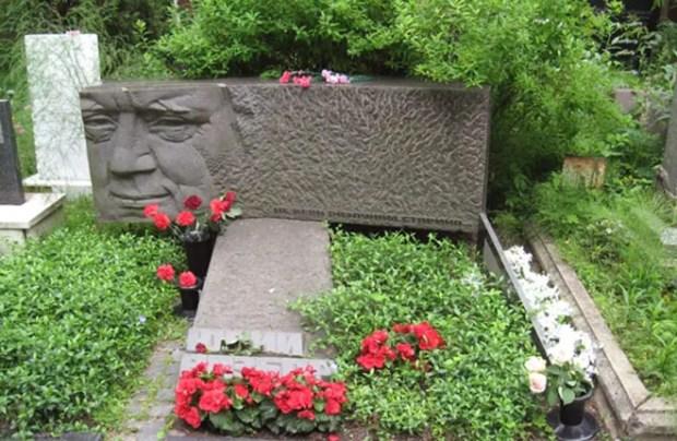 Могила Юрия Визбора
