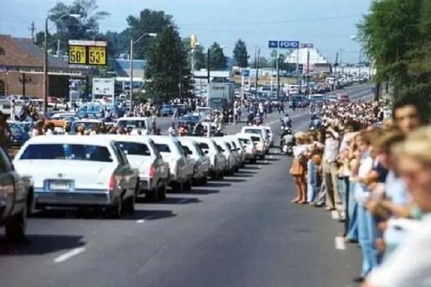Похороны Элвиса Пресли