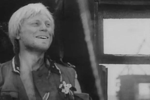 Юрий Богатырев в фильме «Спокойный день в конце войны»