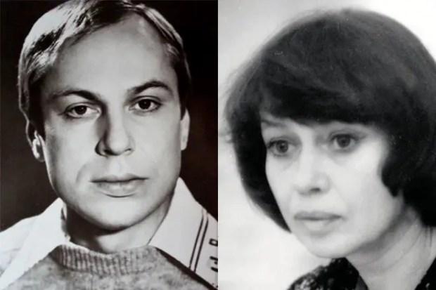 Юрий Богатырев и Надежда Серая
