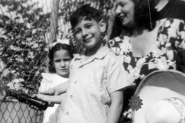 Пласидо Доминго в детстве